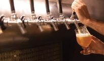 What is the process of creating gluten-free beer?