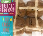gluten-free vegan hot cross bun