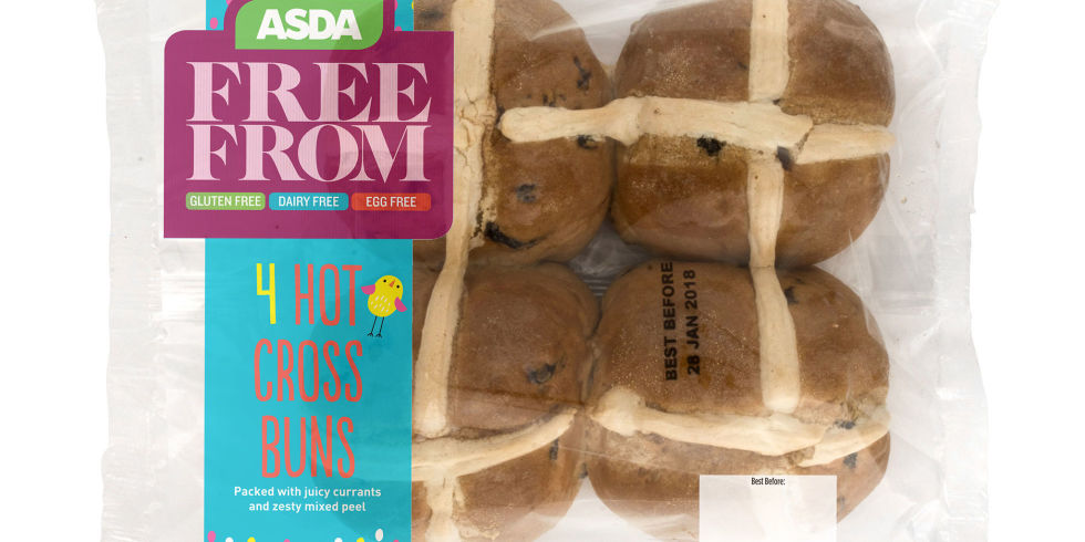 gluten-free vegan hot cross bun