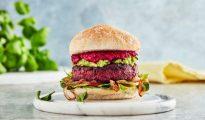 bleeding vegan burger