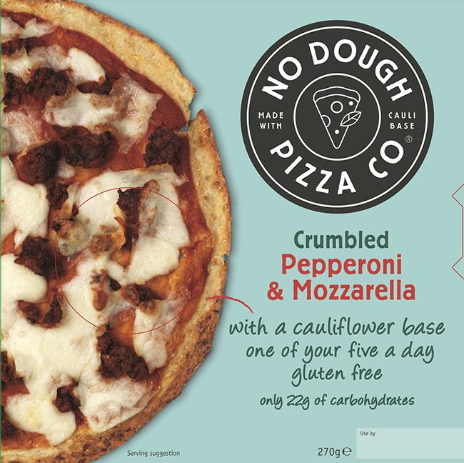 A Range Of Gluten Free Cauliflower Based Pizzas Is Launching