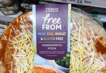 tesco gluten-free pizza