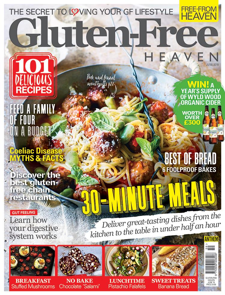 Gluten-Free Heaven June 2018