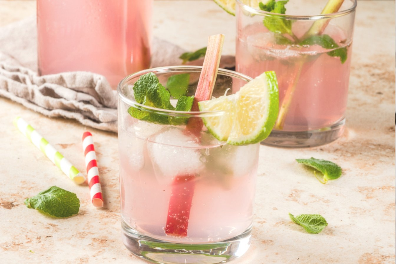Rhubarb Mocktail