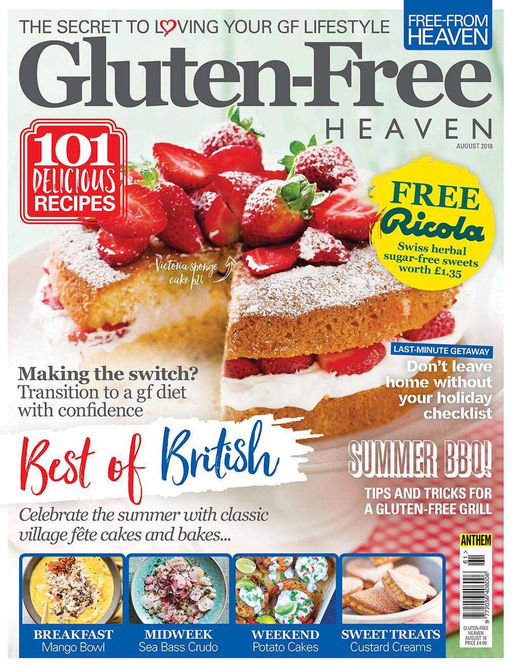 Gluten-Free Heaven August 2018 | Gluten-Free Heaven