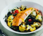 Salmon salad bowl recipe