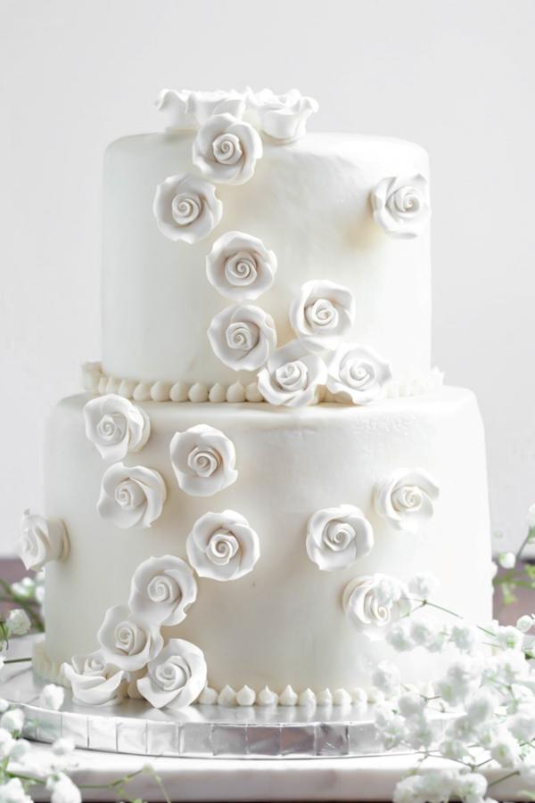 Gluten Free Vanilla Wedding Cake