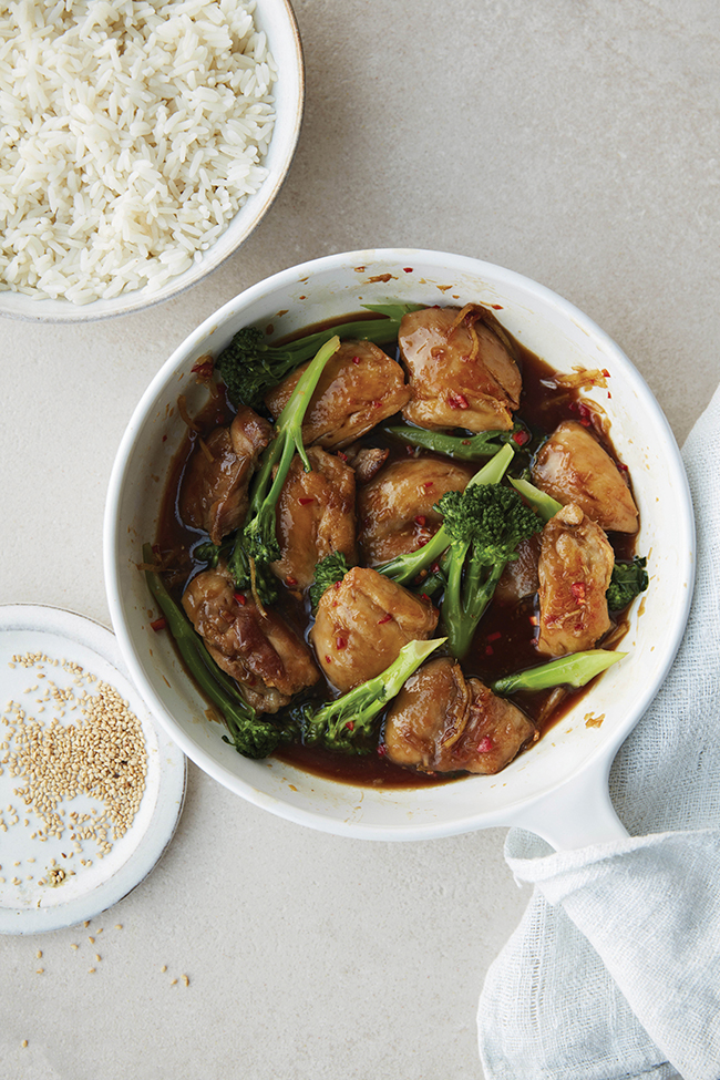 caramelised chicken recipe