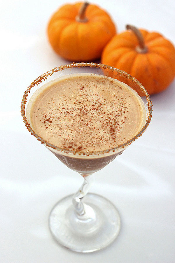 gluten-free pumpkin cocktail