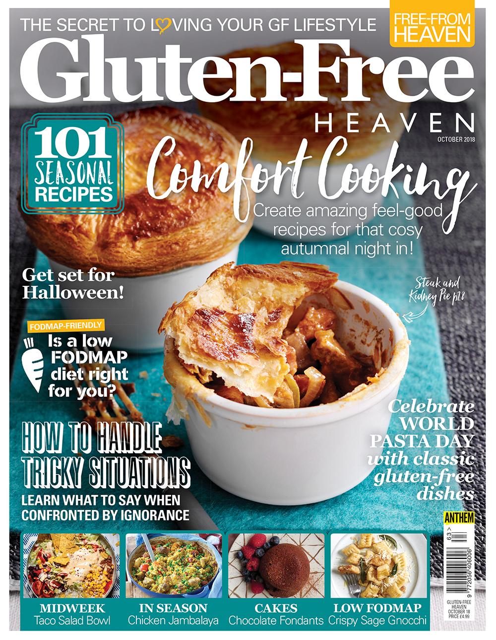 Gluten-Free Heaven October 2018