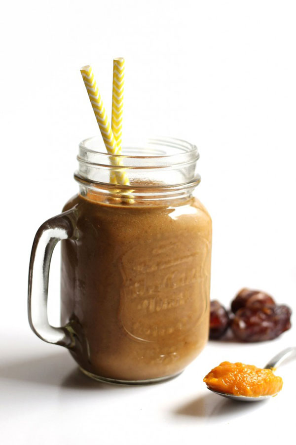 gluten-free pumpkin smoothie