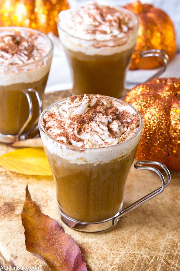 gluten-free pumpkin sugar-free latte