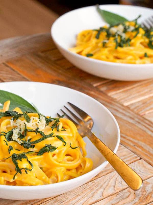 gluten-free pumpkin pasta