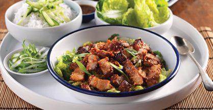 gluten-free Korean pork belly recipe