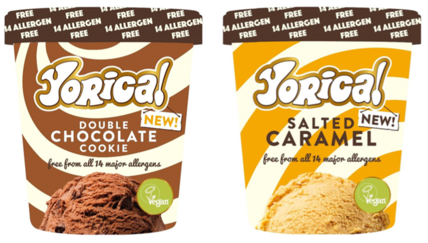 allergen free ice-cream uk