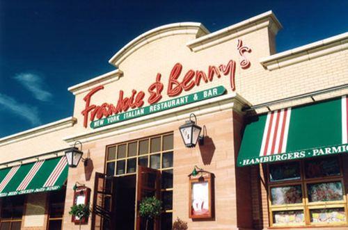 Frankie & Benny's gluten-free menu