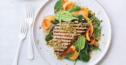 Tuna pistachio salad recipe