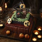 Gluten-free Halloween cake