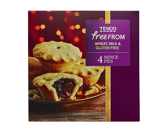 tesco gluten-free christmas food