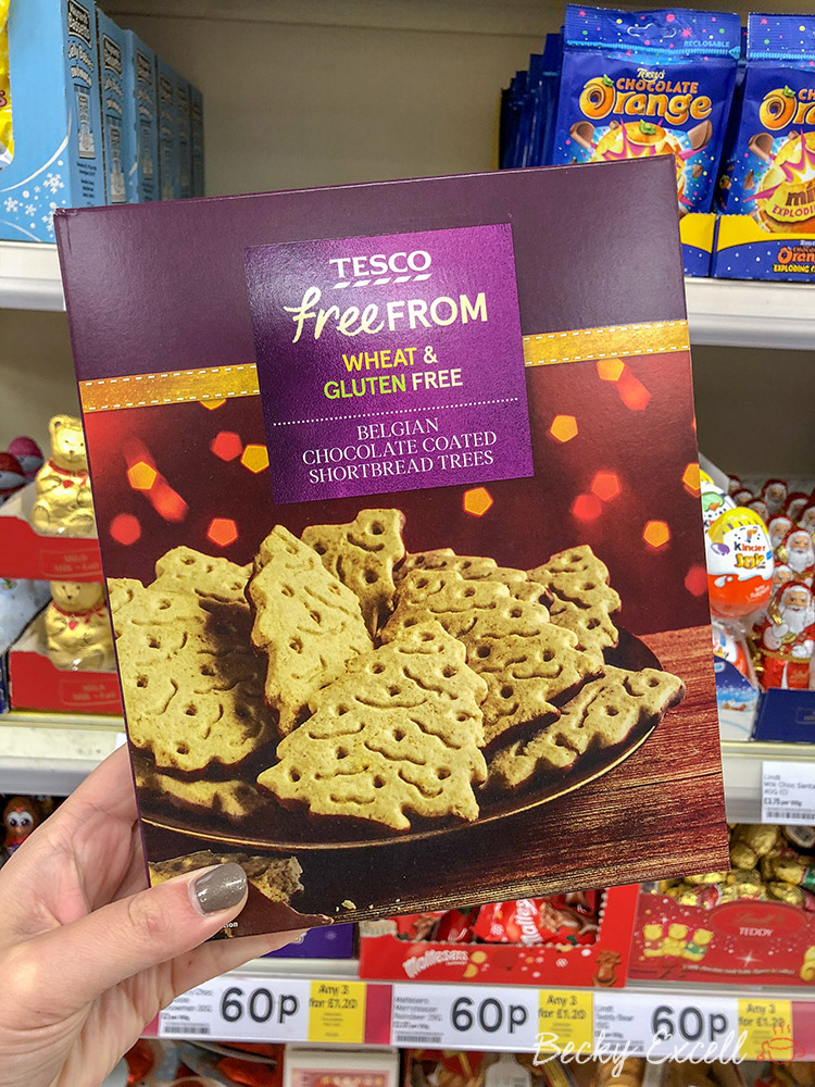 Tesco Add Deliciously Festive New Gluten Free Products To