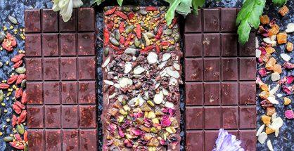 raw chocolate superfood bars
