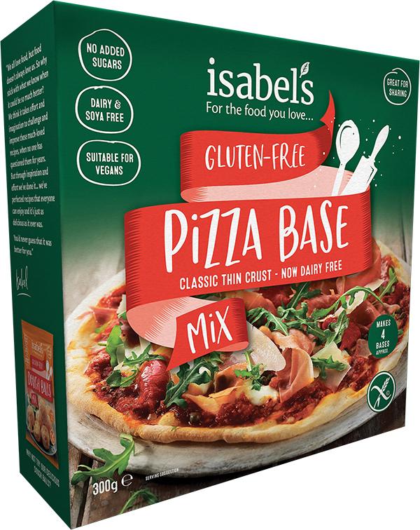 gluten-free pizzas