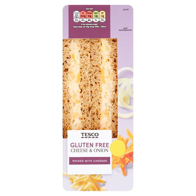 Tesco Launches Two Brand New Gluten Free Sandwiches Gluten
