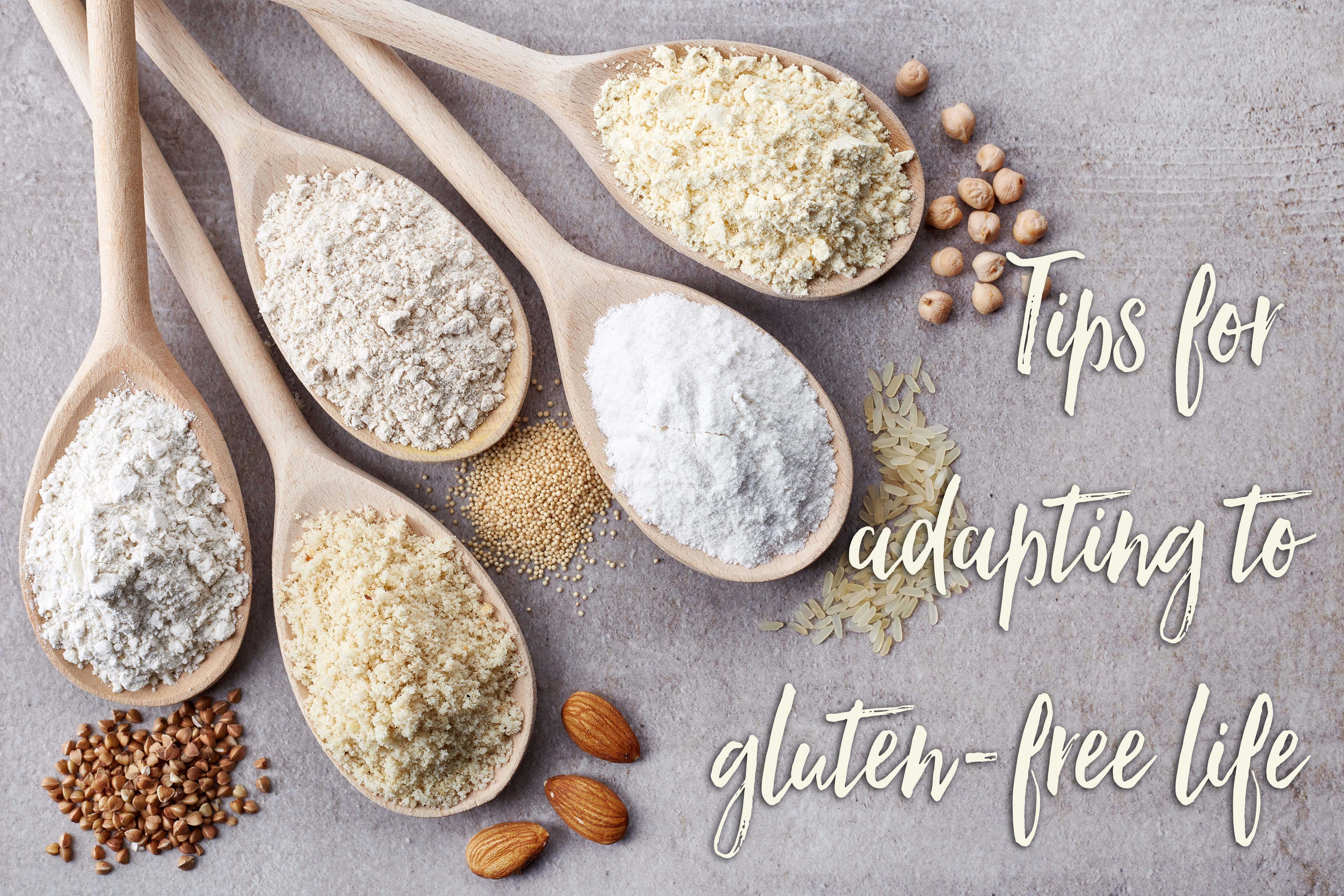 Top tips for adapting to a gluten-free lifestyle