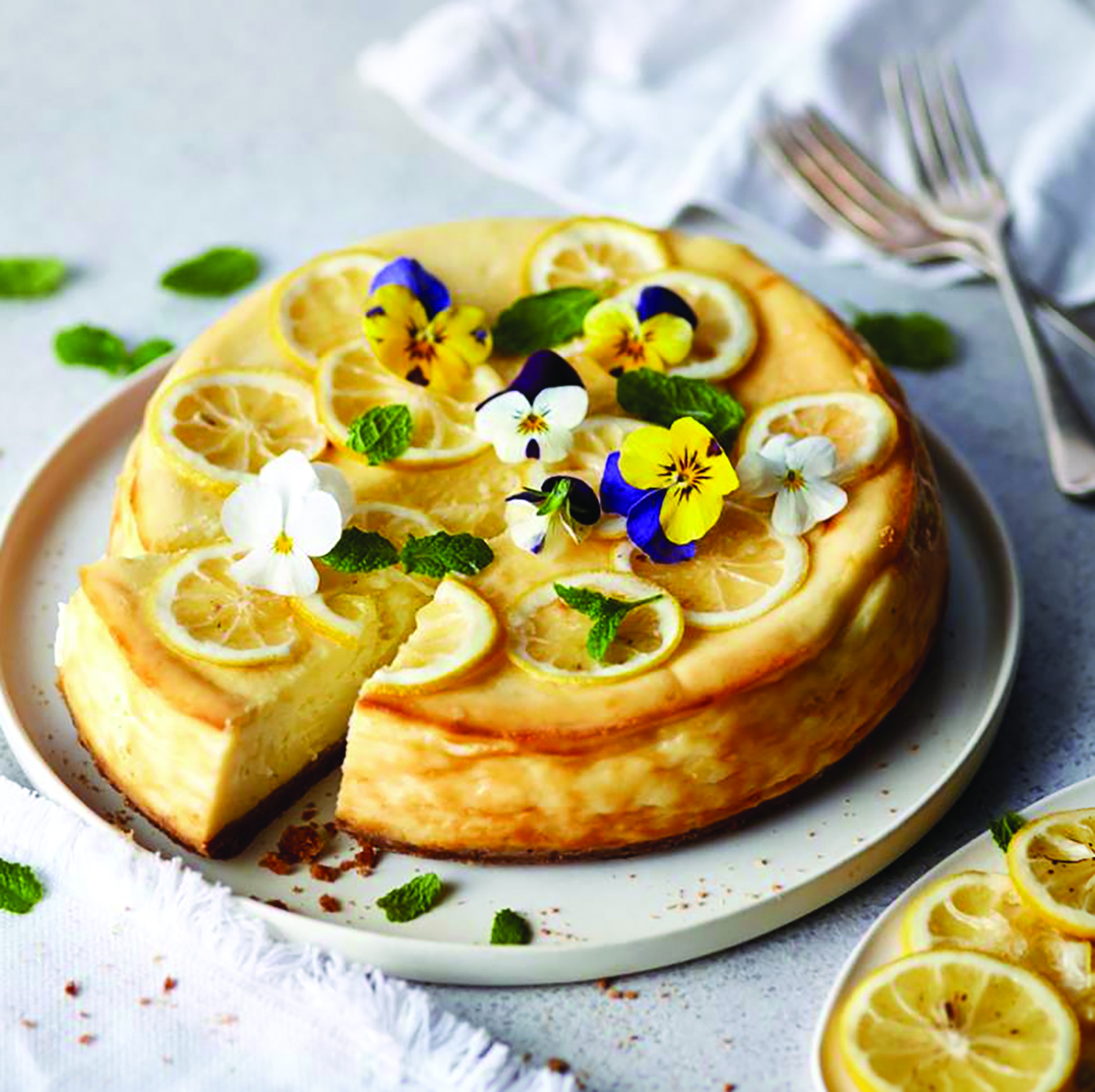 Ultimate baked lemon cheesecake recipe