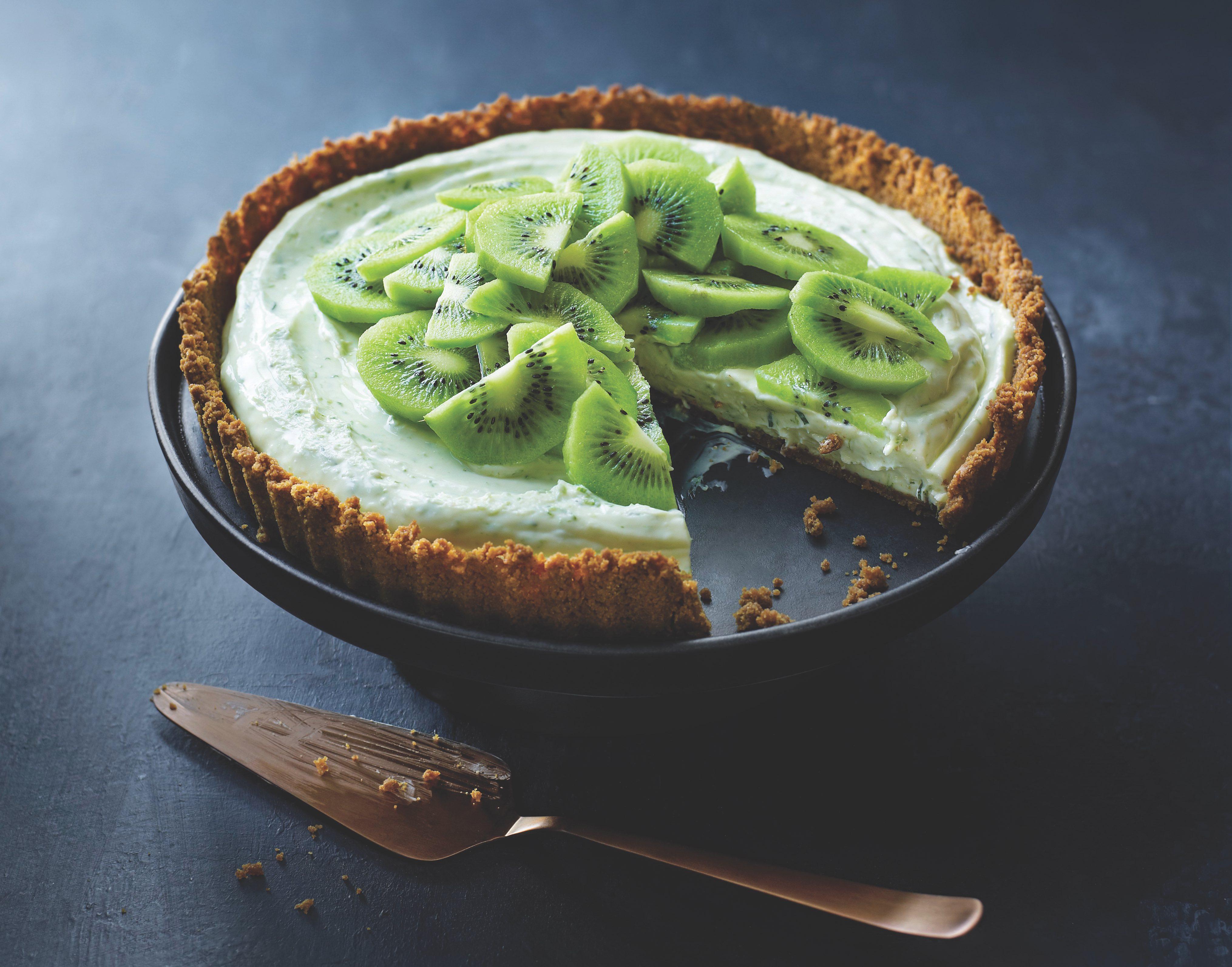 Kiwi Lime Pie recipe