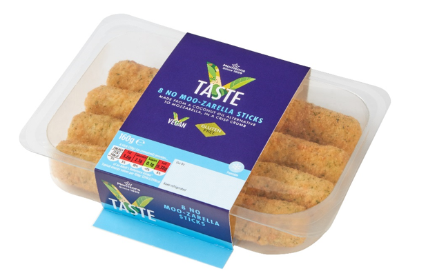 Morrisons have released gluten and dairy free mozzarella sticks!