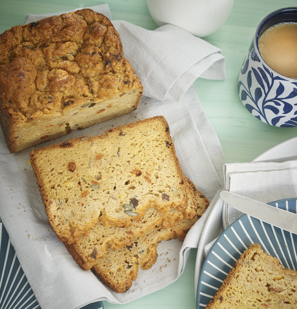 Cinnamon fruit and seed loaf recipe