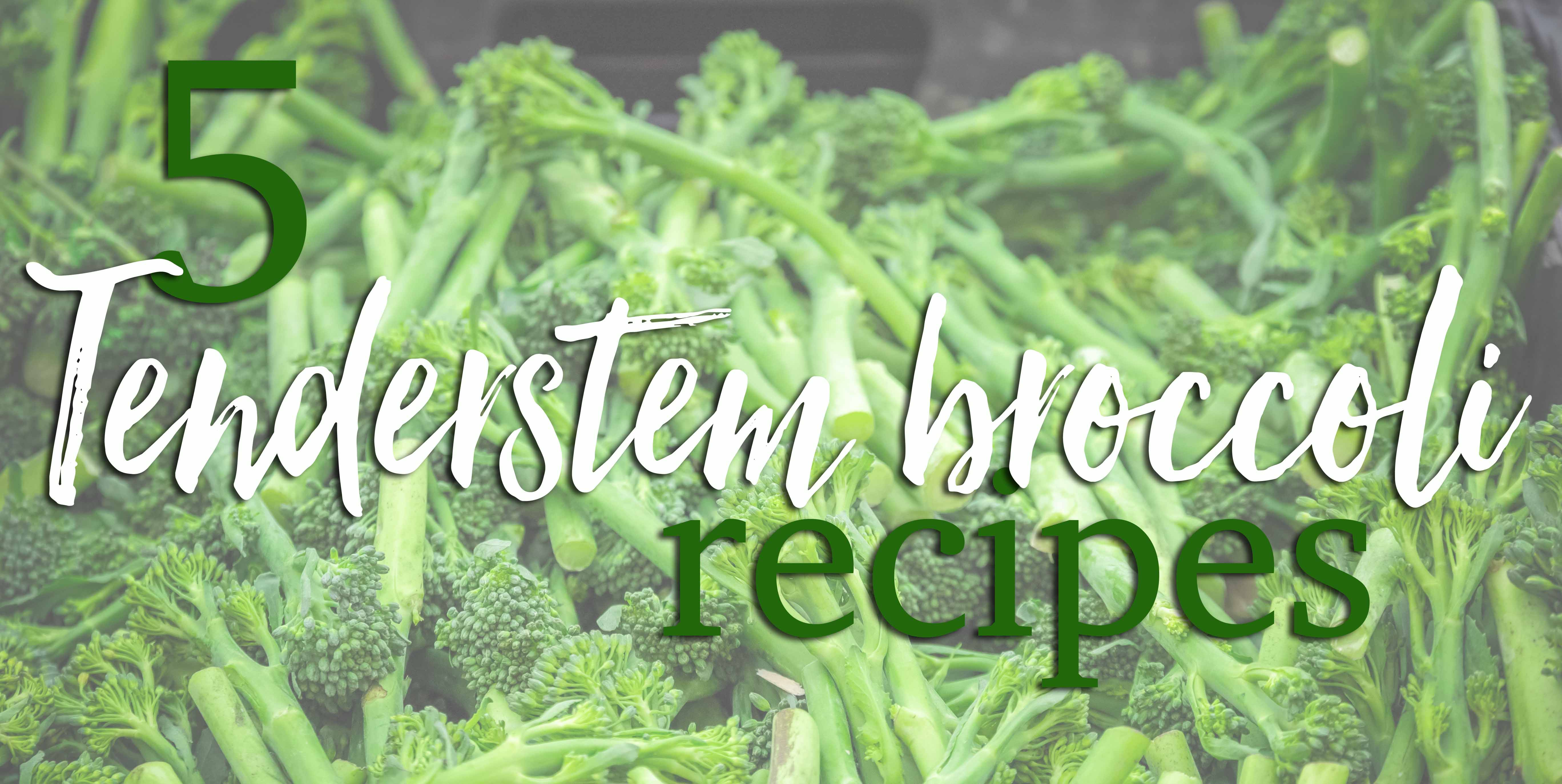 Cooking with Tenderstem: 5 gluten-free broccoli-based recipes