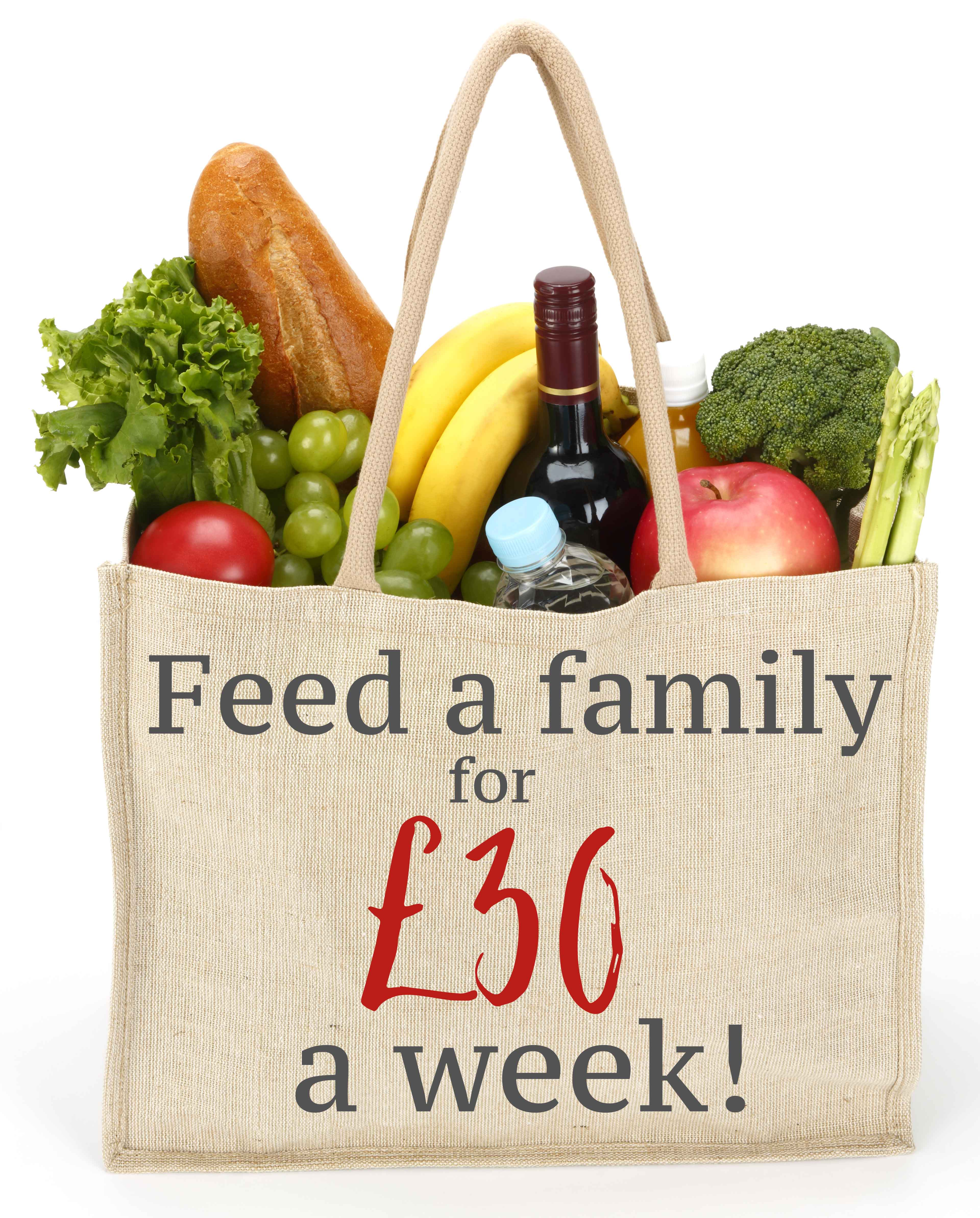 How to feed your gluten-free family for £30 a week