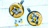 Blueberry Lemon Muffin Mug Cake