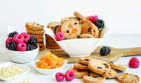 Paleo fruit cookies