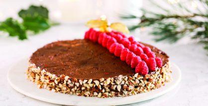 Avocado chocolate torte