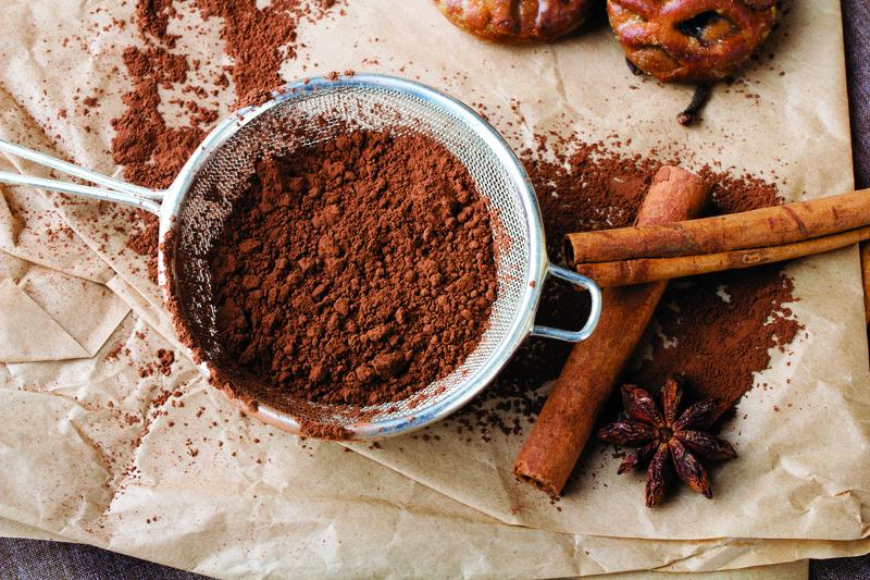 bake with chocolate