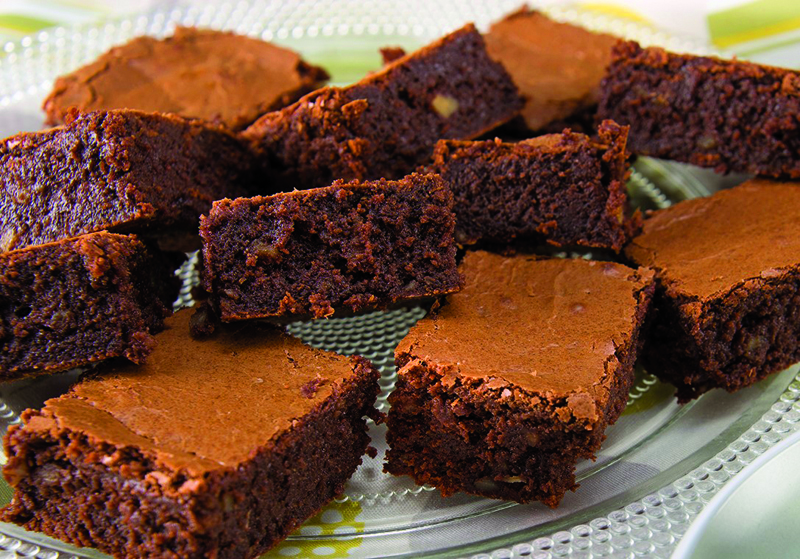 Gluten-free hazelnut brownies