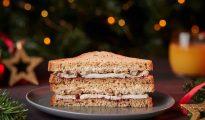 christmas gluten-free sandwich