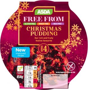 gluten-free christmas puddings