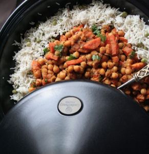gluten-free for kids chickpea tagine