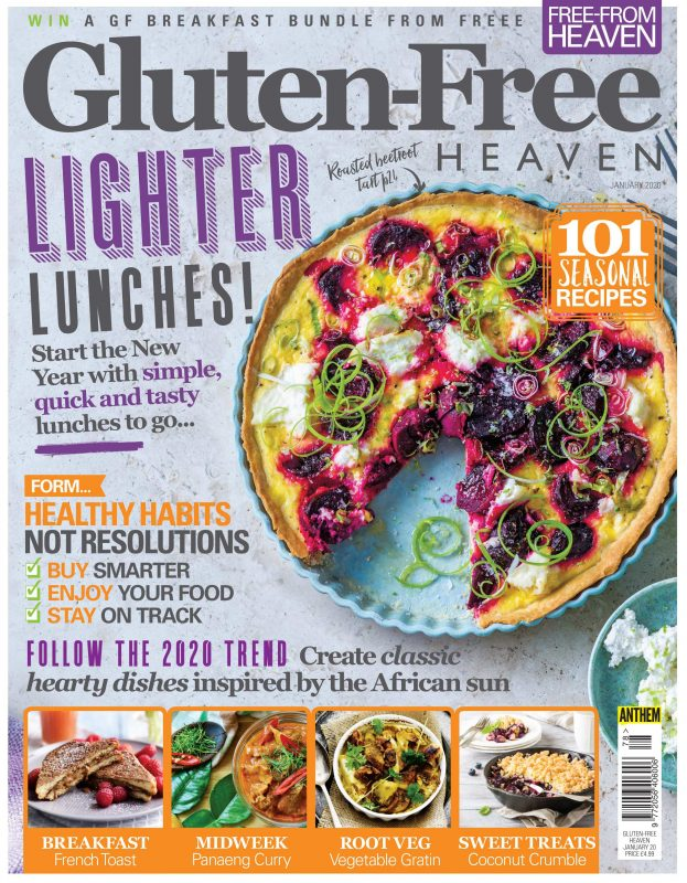 January 2020 issue of Gluten-Free Heaven