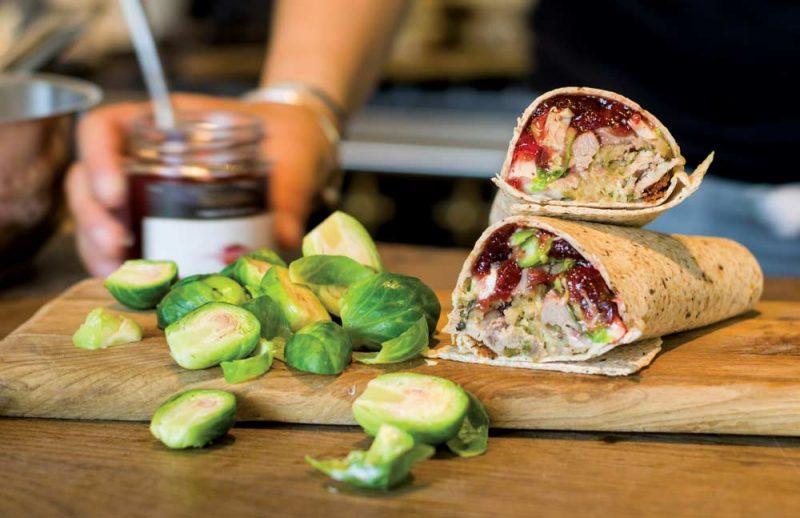 Gluten-Free Turkey Wrap
