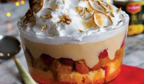 pineapple and coconut trifle