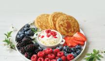 Fluffy gluten-free pancakes