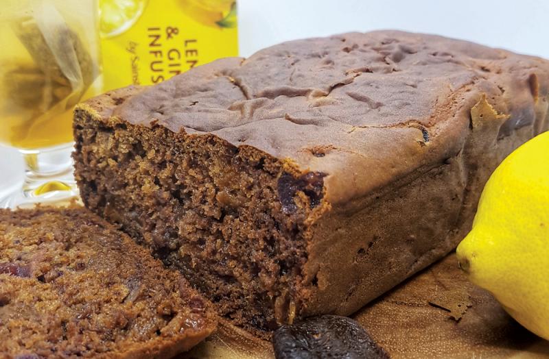Gluten-free fruit tea loaf