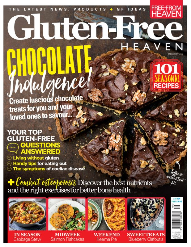 February 2020 issue of Gluten-Free Heaven