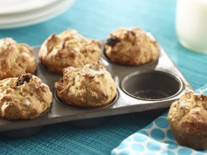 Peanut Butter Breakfast Muffins