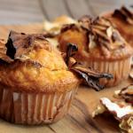 Gluten-free apple chip muffins